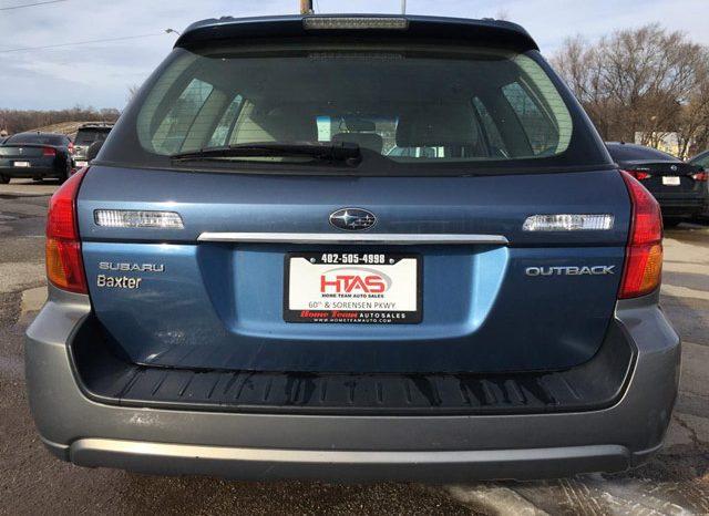 2007 Subaru Outback AWD – 4 door wagon full