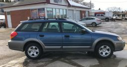 2007 Subaru Outback AWD – 4 door wagon